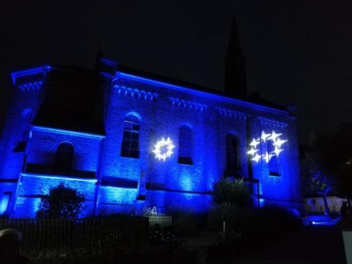 Illumination der Kirche